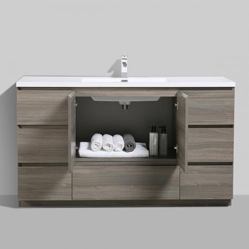 Aifol 61 inch American Style Floor DTC Melamine Bathroom ...